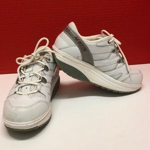 MBT athletic shoes for women size 6, white
